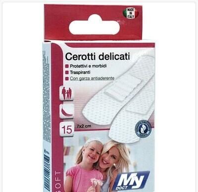 CEROTTI SOFT TNT BIANCHI 15 PZ 7X2 CM