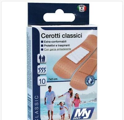 CEROTTI CLASSIC PE 10 PZ 7X2 CM PELLE