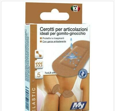 CEROTTI SOFT TNT GOMITO GINOCCHIO 6 PZ 7X5 CM