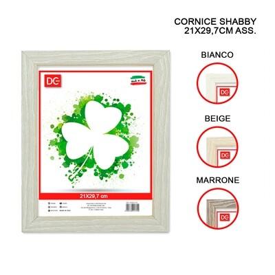 CORNICE SHABBY 21X29.7CM ASS.
