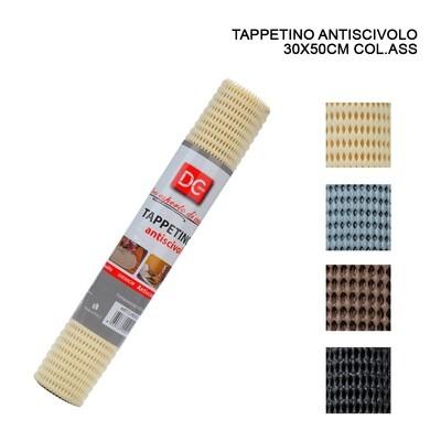TAPPETINO ANTISCIVOLO 30X50CM ASS