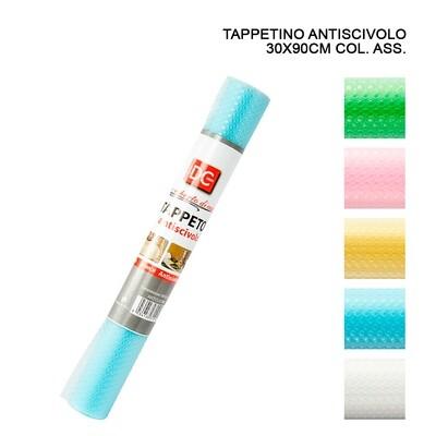 TAPPETINO ANTISCIVOLO 30X90CM ASS