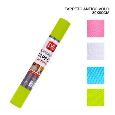 TAPPETO ANTISCIVOLO 30X90CM ASS