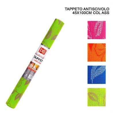 TAPPETO ANTISCIVOLO 45X100CM ASS