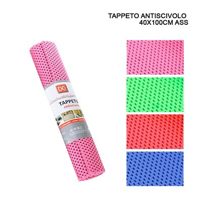 TAPPETO ANTISCIVOLO 40X100CM ASS