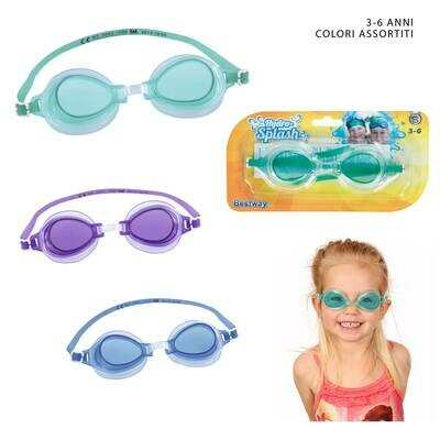 OCCHIALINI SILICONE HIGH STYLE 3-6 ANNI ASS
