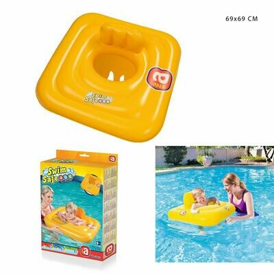 SALVAGENTE QUADRATO C/MUTANDINA SWIM SAFE 69X69CM