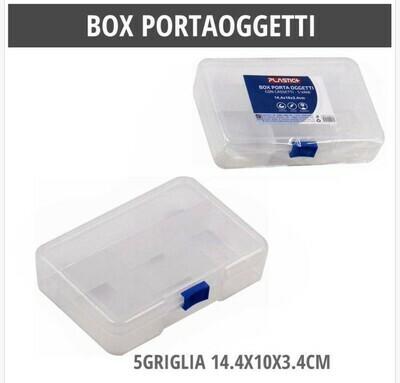 BOX PORTAOGGETTI 5 GRIGLIA 14.4X10X3.4CM