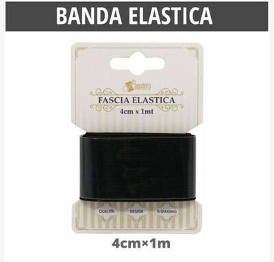 BANDA ELASTICA PIATTO BIANCO40MM*1M