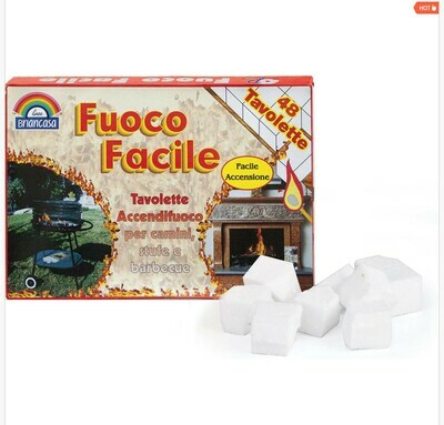 ACCENDIFUOCO FUOCO FACILE 48 TAVOLETTE
