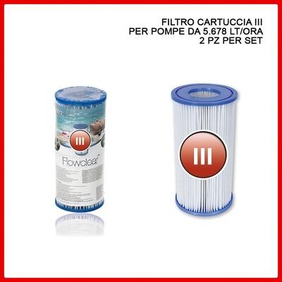 FILTRO CARTUCCIA PER POMPE DA 5.678L/ORA