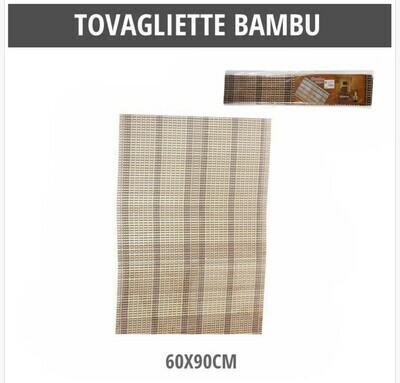 TOVAGLIETTE BAMBU 60X90CM