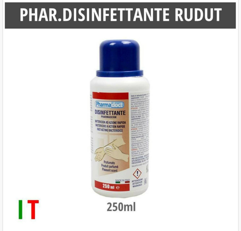 PHARMADOCT DISINFETTANTE RUDUT 250ML