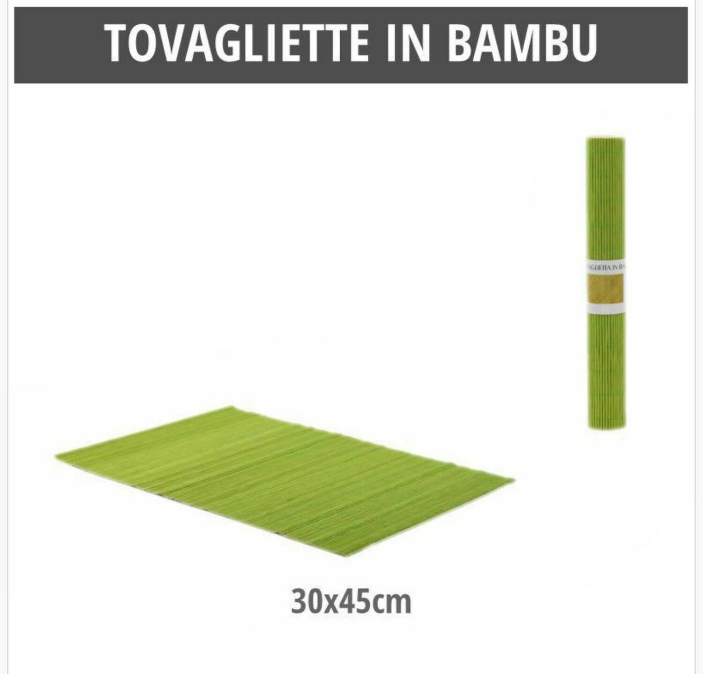 TOVAGLIETTE IN BAMBU 30X45CM