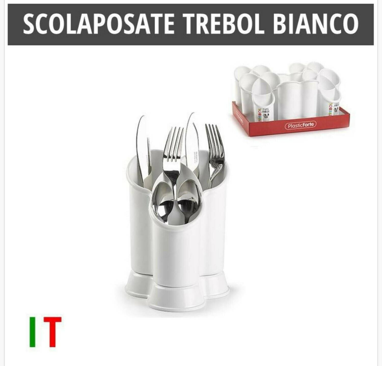 SCOLAPOSATE TREBOL BIANCO