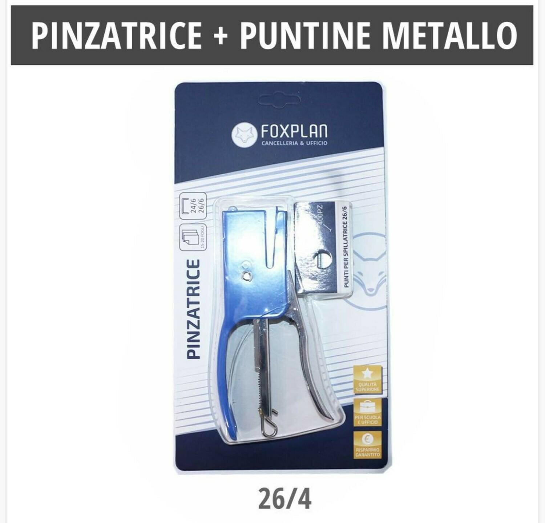 PINZATRICE + PUNTINE METALLO 26/4