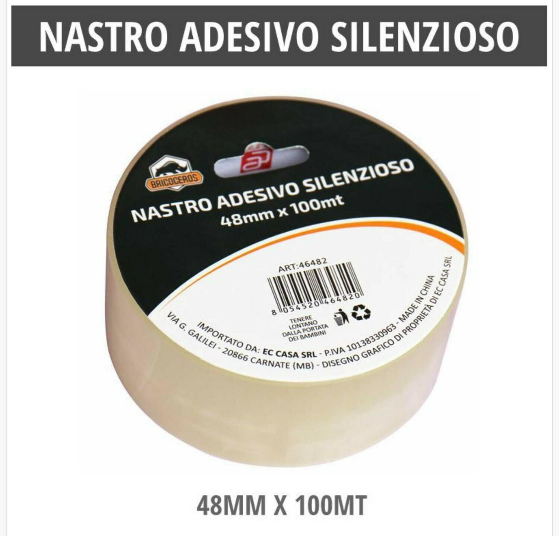 NASTRO ADESIVO SILENZIOSO 48MM X 100MT