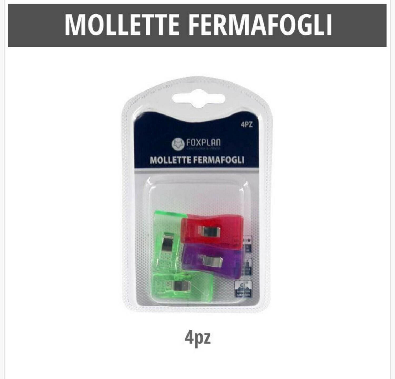 MOLLETTE FERMACARTE 4PZ