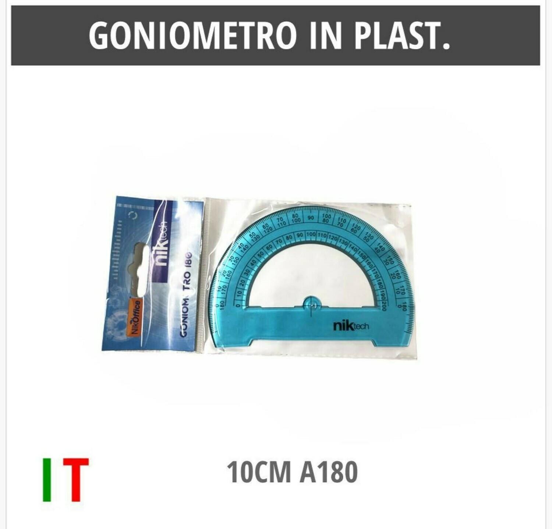 GONIOMETRO IN PLAST.10CM A180