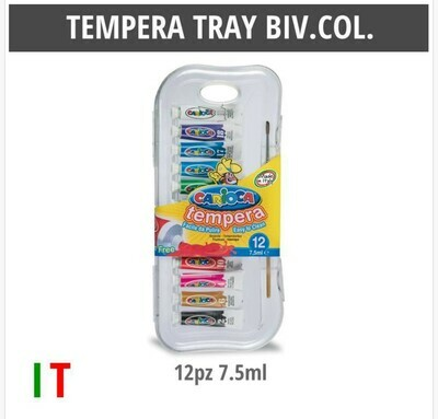 CARIOCA TEMPERA 7.5ML 12PZ
