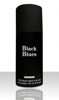 NUOVO BODY SPRAY 150ML HOMME BLACK BLUES