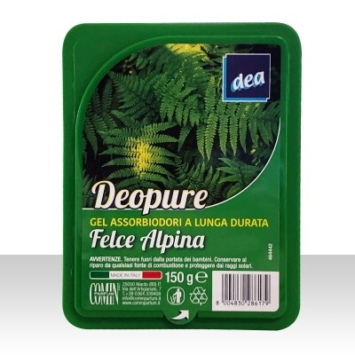 DEA DEO PURE ASSORBIODORI FELCE ALPINA