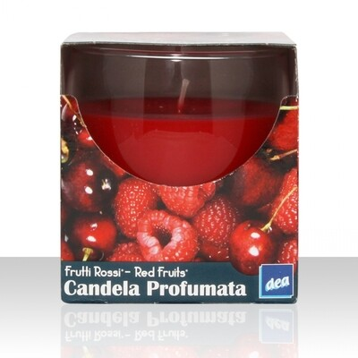 DEA CANDELE PR. BICCHIERE RED FRUIT 120g