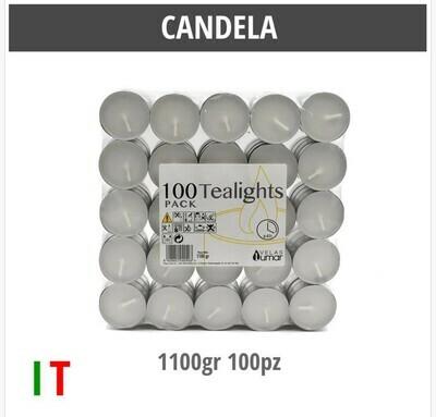 CANDELA 1100GR 100PZ