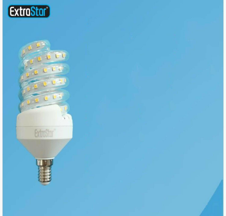 LAMPADINA LED SPIRALE E14 13W 1200LM LUCE FRE
