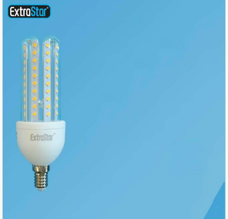 LAMPADA DI LED E14 10W 900LM LUCE CALDA QTA/9
