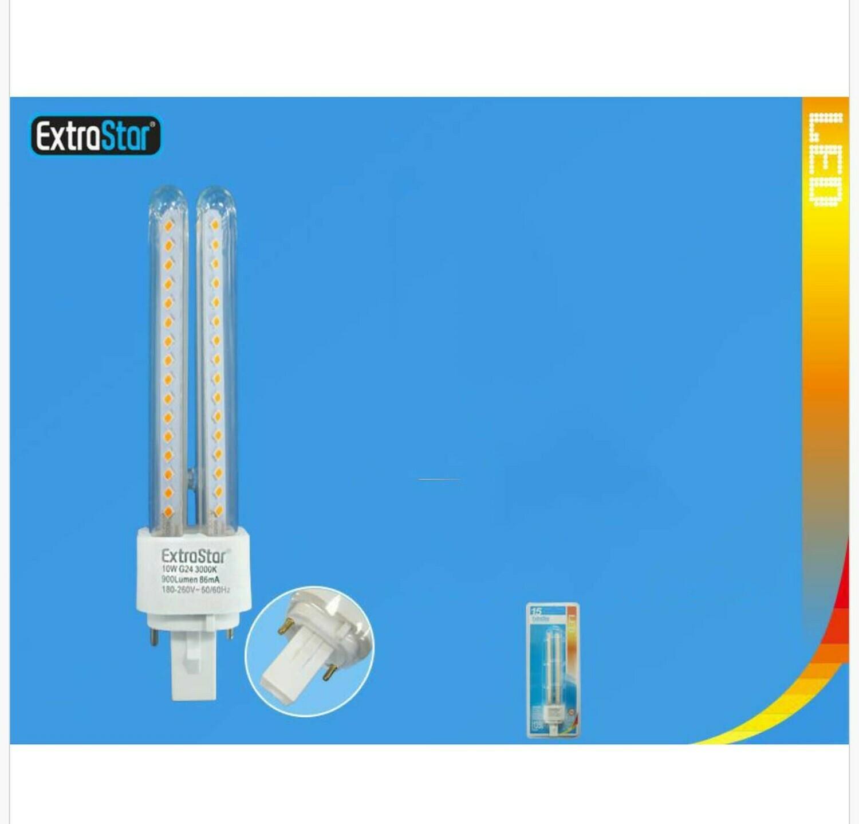 LAMPADINA LED G24 10W 900LM 3000K QTA/96