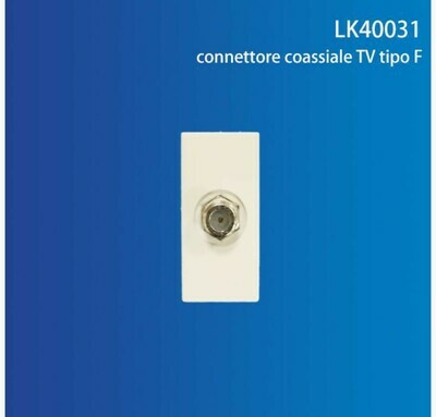 CONNETTORE COASSIALE TV TIPO F QTA/250