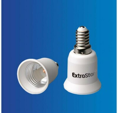 ADATTATORE PER LAMPADINA DA E14 A E27 QTA/288