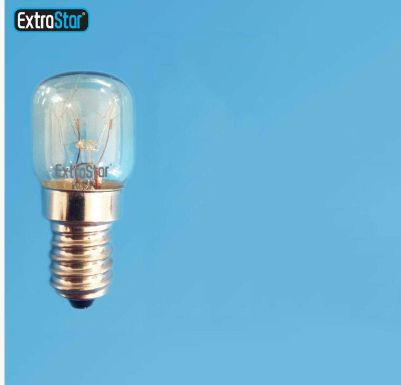 LAMPADINA DA FORNO E MICROONDE E14 15W 80LM 2