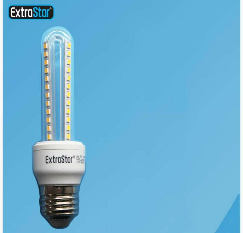 LAMPADA DI LED E27 8W 640LM LUCE FREDDA QTA/9