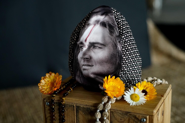 Mala Bag 'Paramahamsa Vishwananda', brown