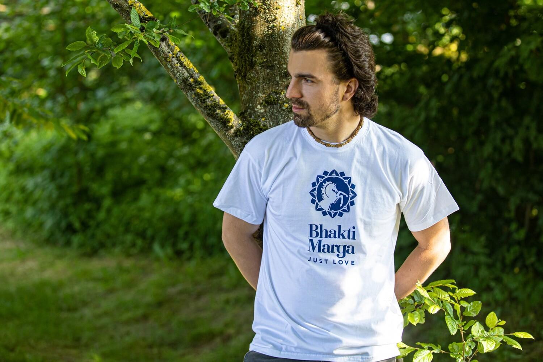 T-shirt 'BM Logo' - white