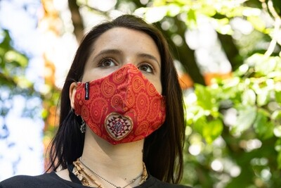 Social Mask 'Sri Yantra'