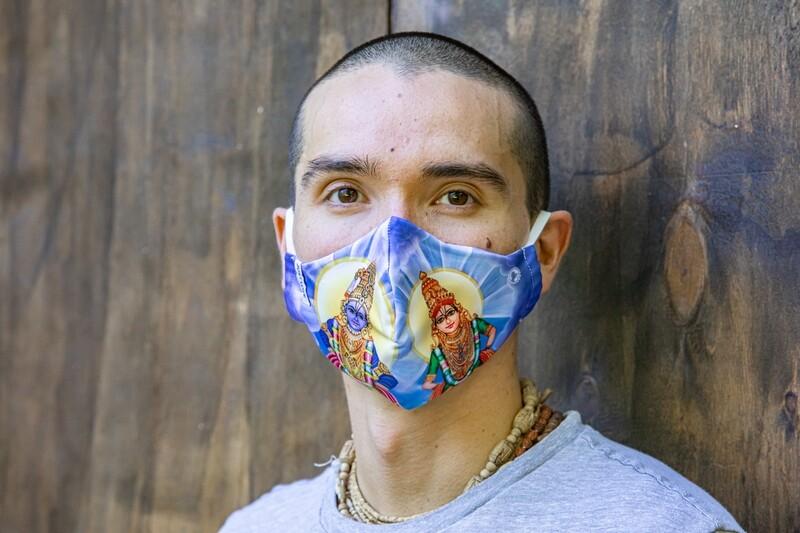 Social Mask 'Rukmini Panduranga'