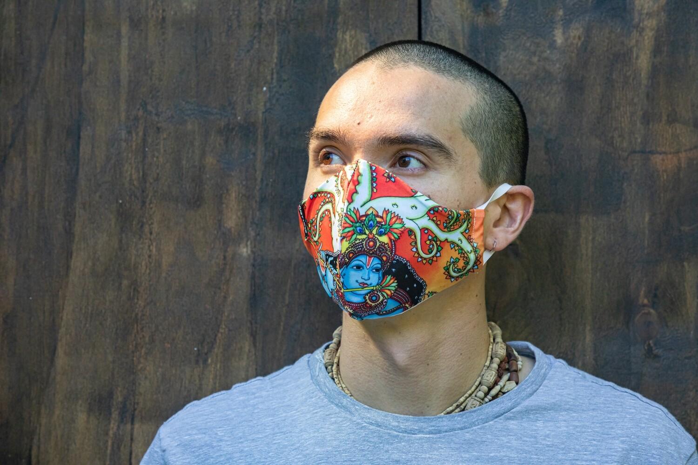 Social Mask 'Krishna'