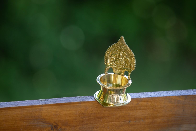 Lakshmi Diya Lamp