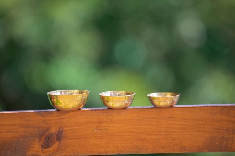 Brass Puja Bowl - Small.1