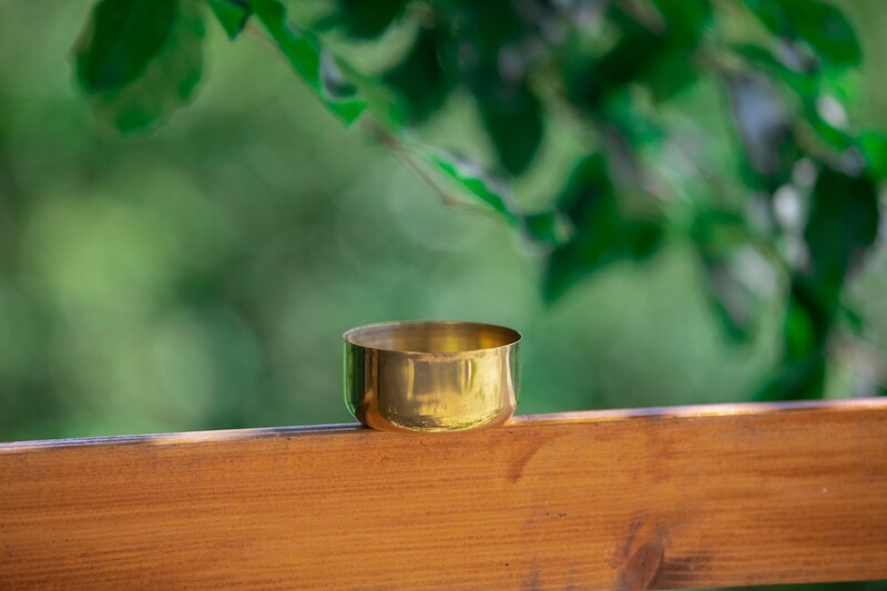 Brass Puja Bowl - Deep