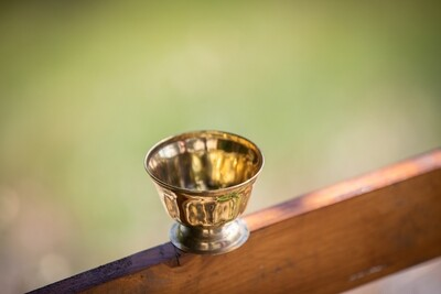 Brass Puja Bowl - Tall
