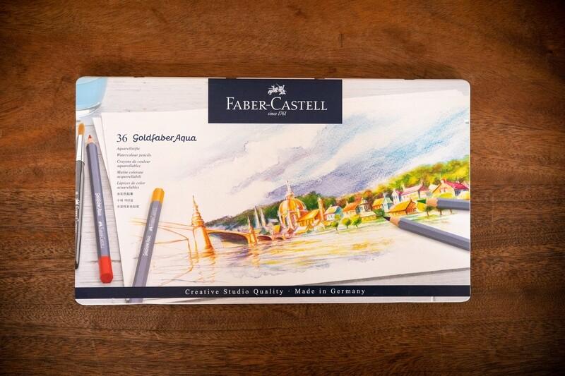 Goldfaber Aqua Watercolour Pencils