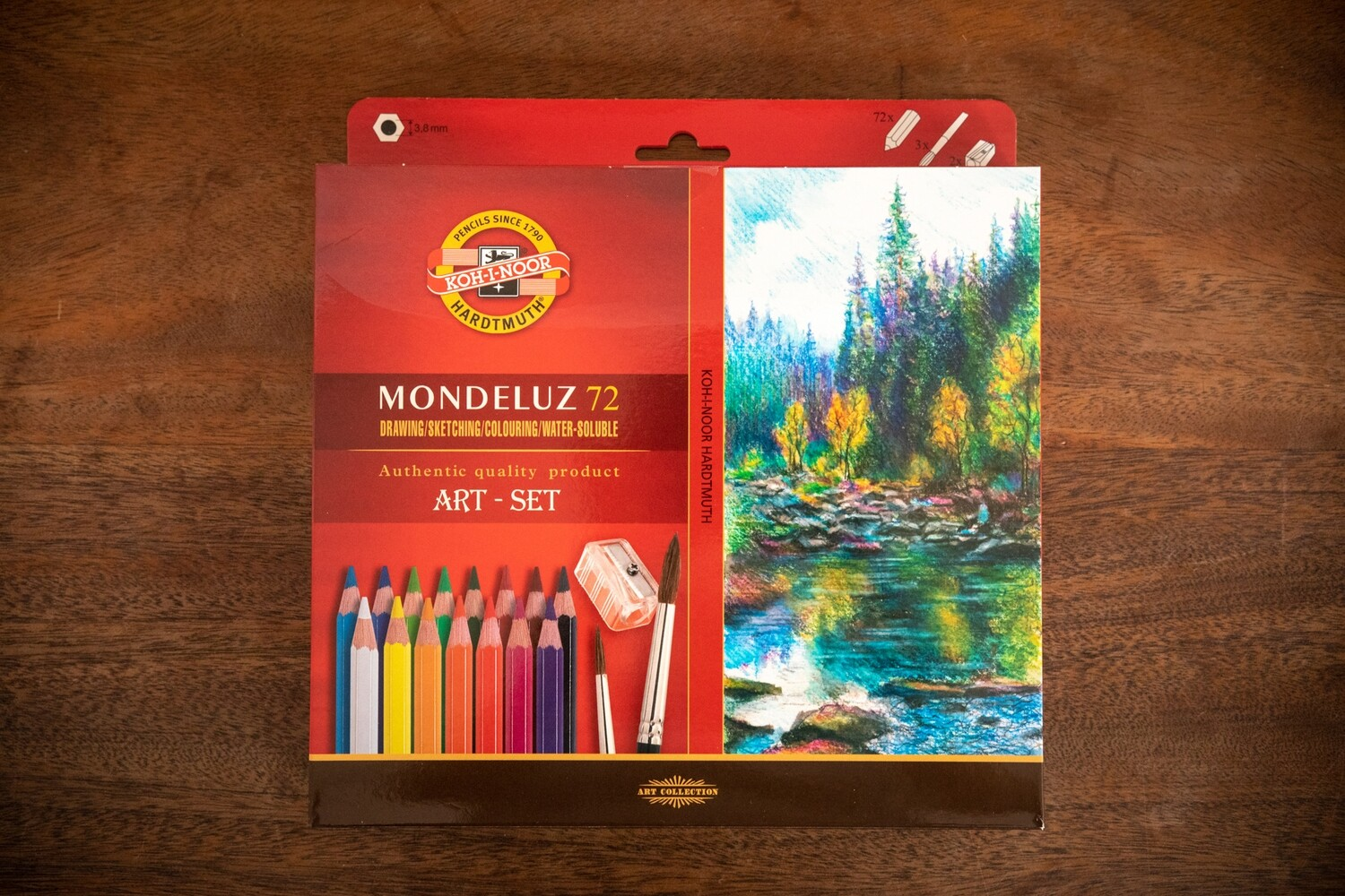 Aquarelle Drawing Set