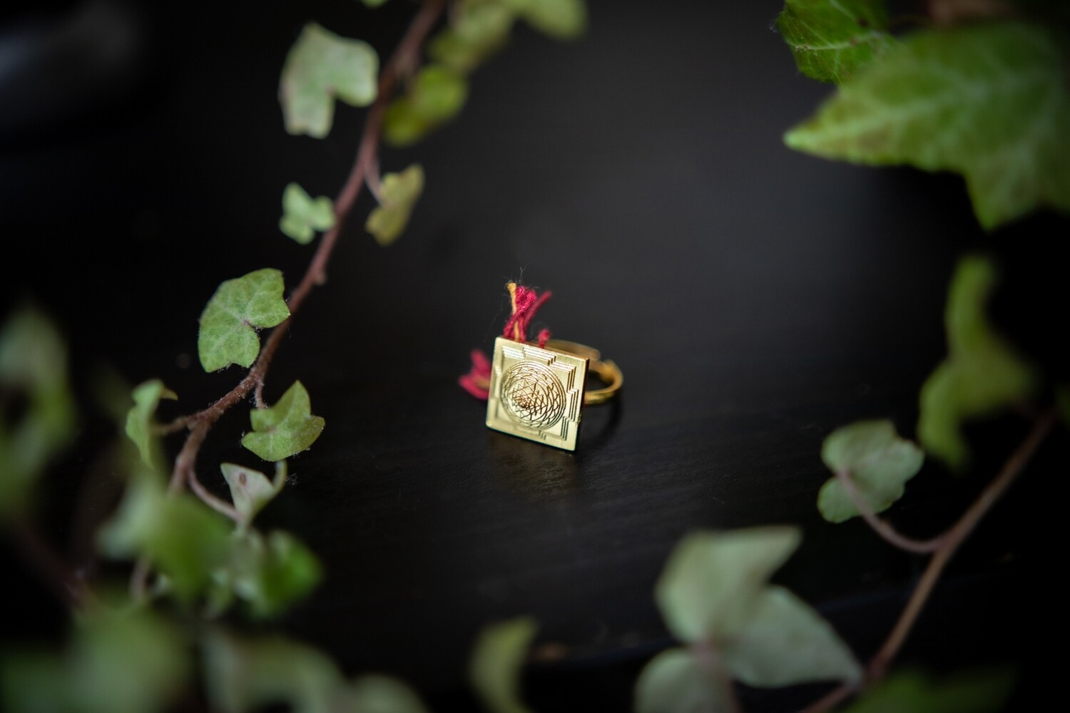 MahaMeru Sri Yantra Ring
