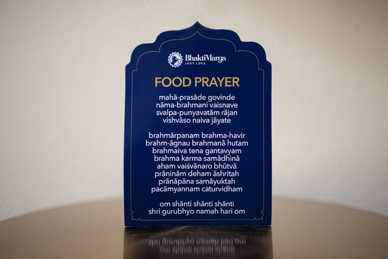 Magnet - Food Prayer