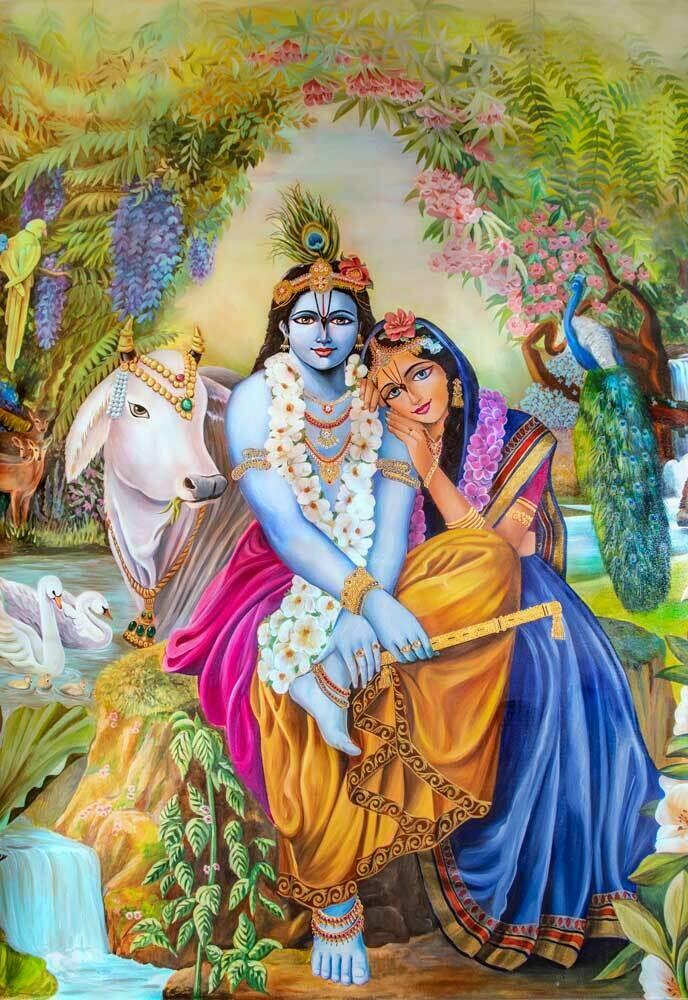 RADHA KRISHNA - The Divine Couple