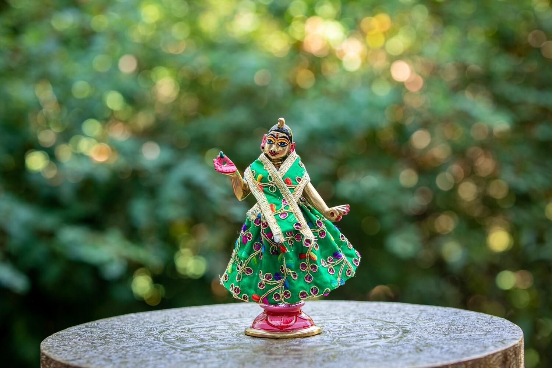 Simple Deity clothing for Devi